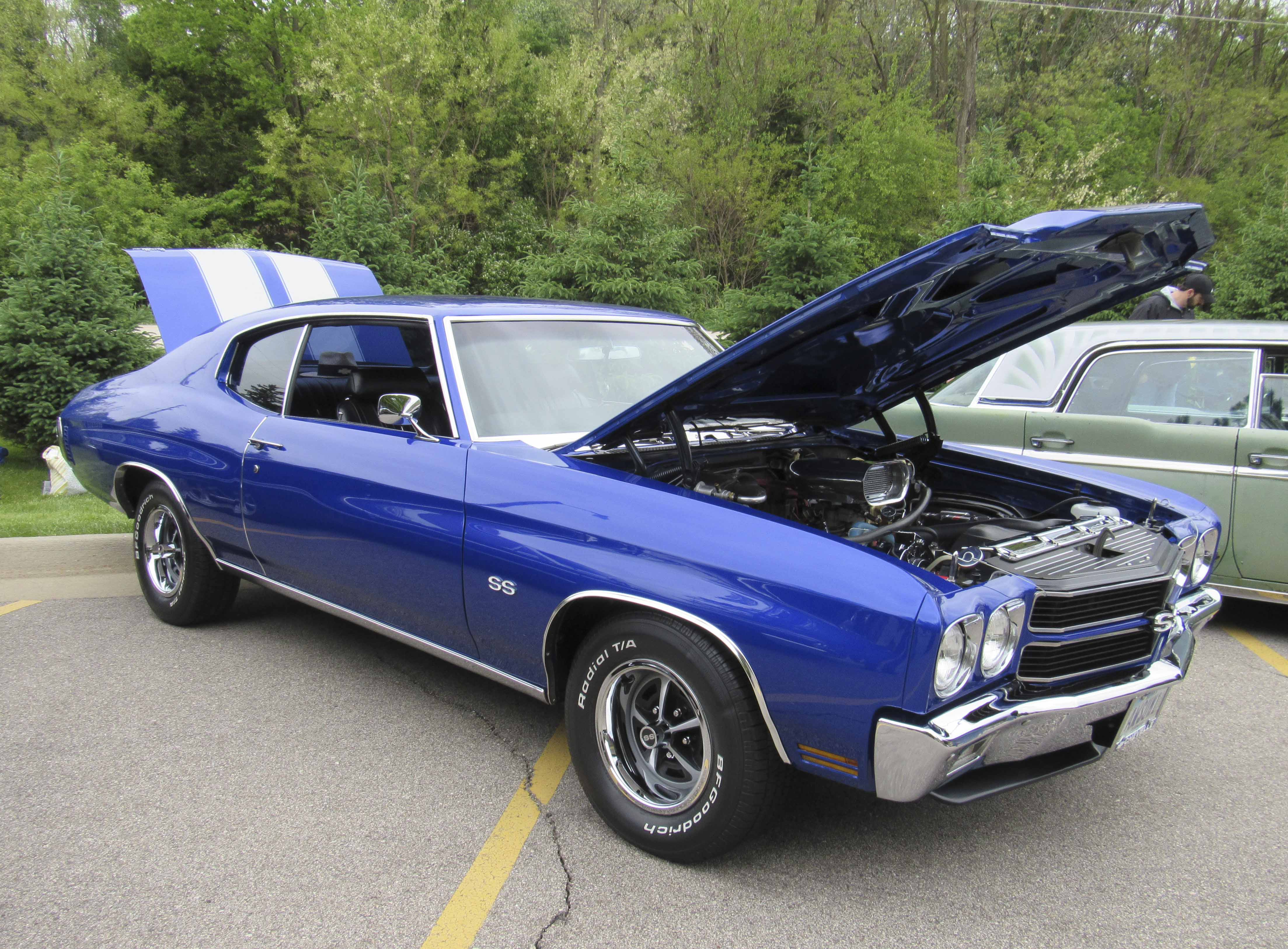 Pat and Rhonda Coleman of Peosta are the owners of this 1970 Chevelle.