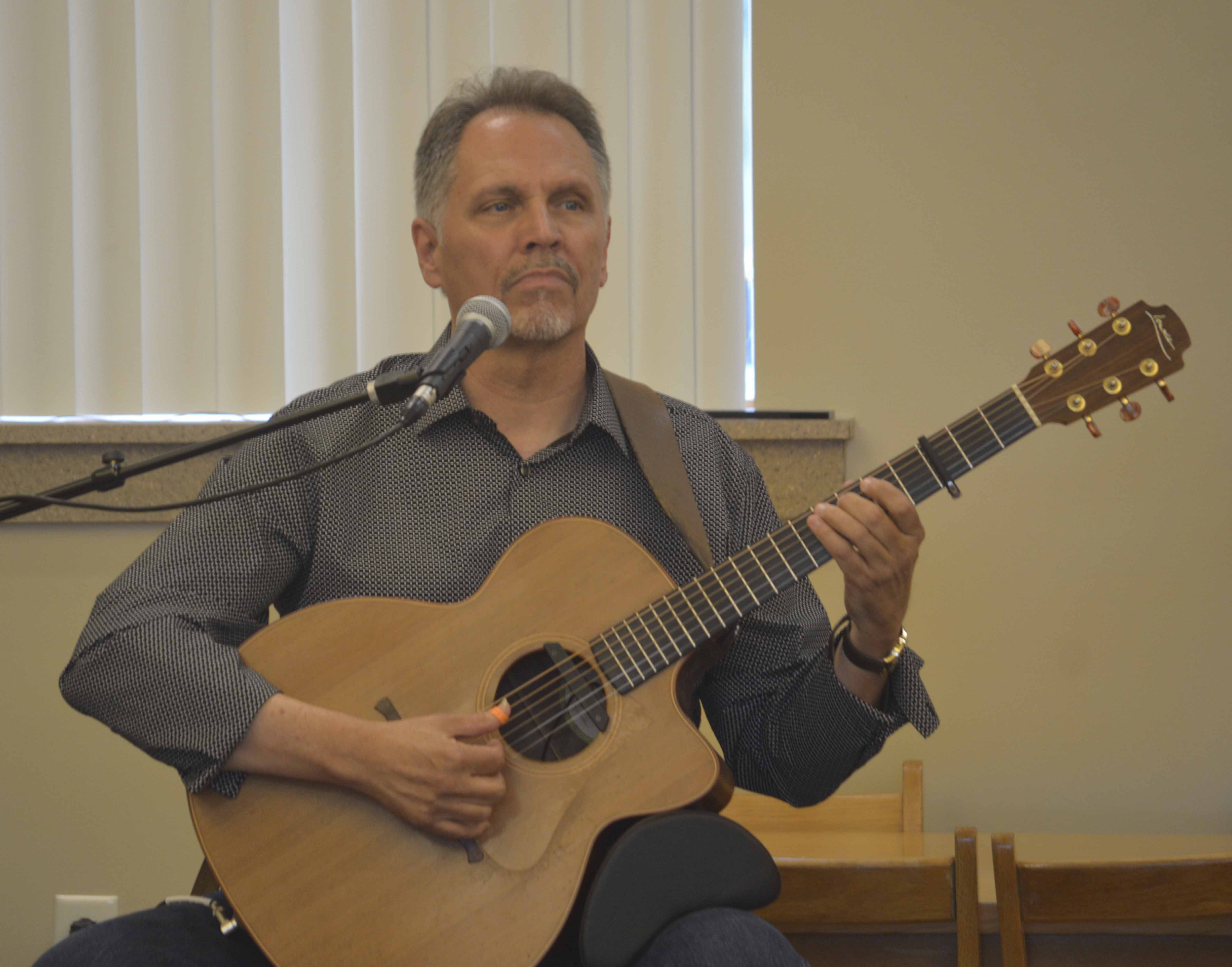 "Jerry Barlow is an acclaimed Celtic fingerstyle guitarist. His latest CD, ""Voyage of Hope,"" features his own compositions as well as his favorite traditional pieces."