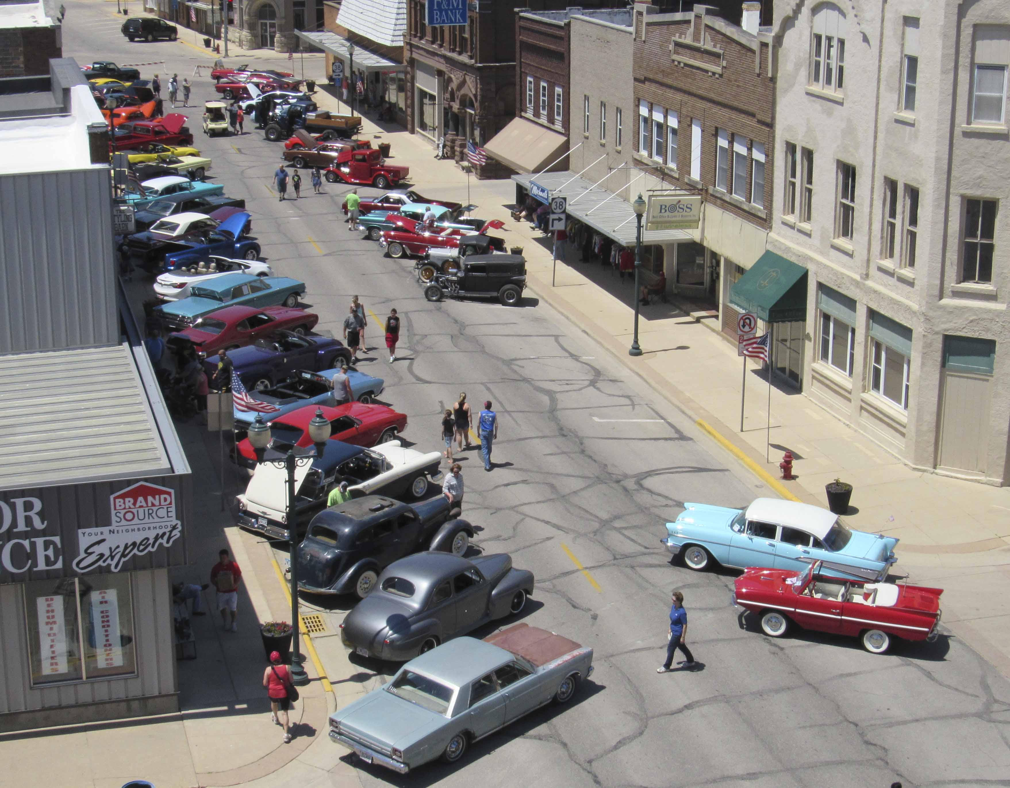 There were over 80 cars and trucks on display for the Fifth Annual Monti in Motion Show 'n Shine on June 10. The vehicles lined E. First Street for the day, with a cruise that followed. (Photos by Kim Brooks)