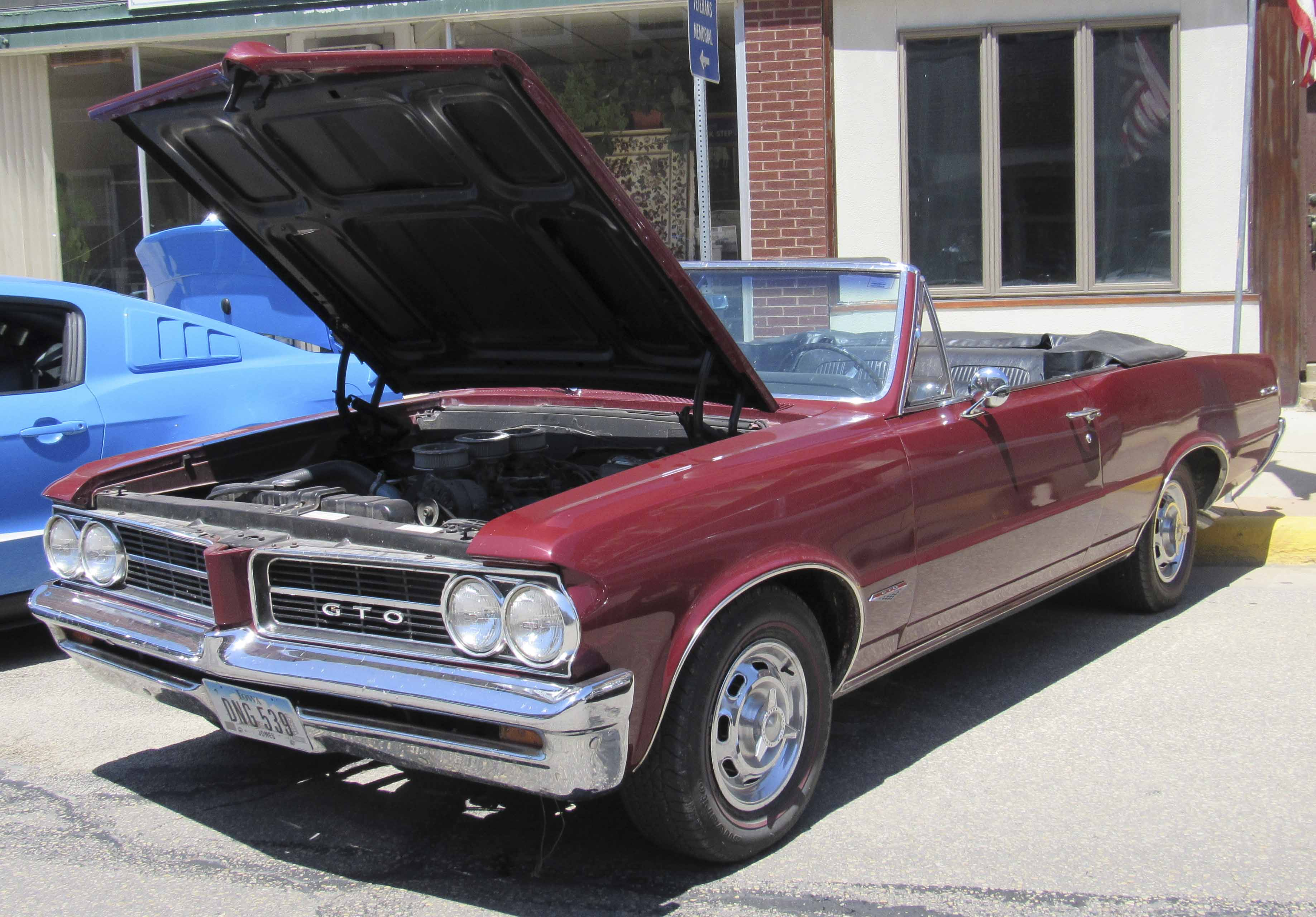 This 1964 Pontiac GTO was on display at Monti in Motion. The owner is Ed Kremer of Monticello.
