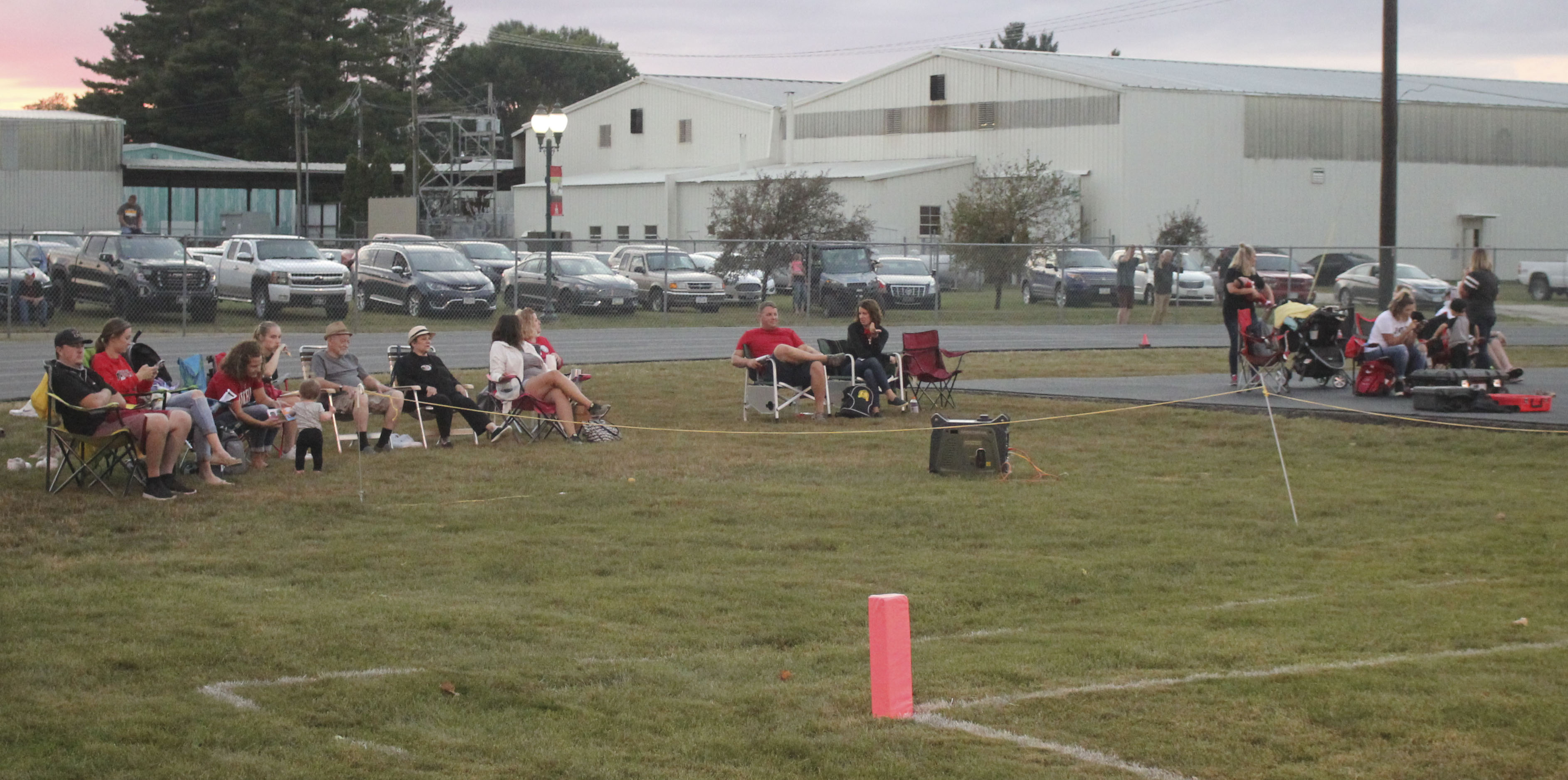 New this year for fans of Panther home football games is the option of bringing bag chairs and sitting beyond the end zones. It is part of an effort to encourage social distancing during the games.