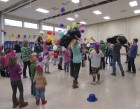 Jones County Extension and Outreach welcomed around 40 kids to the Youth Development Center on New Year's Eve, Dec. 31, for their annual New Year's Eve at Noon celebration. As the clock struck noon, balloons were thrown into the air as confetti guns went off. Kids received 2019 glasses, hats and noisemakers as they rang in the (early) New Year.