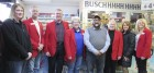 The Monticello Chamber Ambassadors welcomed the new owner of K Power Fuels to town, Gurnam (Garry) Singh. From left are Tiffany Savage, Doug Herman, Tom Keleher, Kathy Bone, Singh, Judy Tuetken, Leann Herman, and Tina McDonough. (Photo by Kim Brooks)