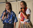 """Performing a duet on """"My, Oh, My"""" are Cassie Gillmore (left) and Jordyn Patterson."""