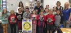 On Oct. 9, the Monticello Rotary Club donated dictionaries to third graders throughout Monticello. Here are Rotary members Angie McDonough, Tom Osborne, Cheryl Dirks, and Tina McDonough with Mrs. Manternach's class at Sacred Heart. (Photos submitted)