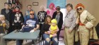 Monticello Senior Dining celebrated Halloween on Oct. 31 with some costume fun. Front from left are Ray Adams, XX, XX holding Hattie Kraus. Back row, Ruth Kleitsch, Pat Heller, Donna Joslin, Gerry Kasebeer, Fran Adams, Patricia Fisher, Harold White and Dining Site Manager Regina Engelbart. (Photo submitted)