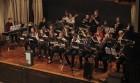 The Monticello Middle School jazz ensemble entertains the large crowd Jan. 8.