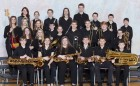 "The Monticello Middle School jazz band received a ""I"" at the district contest. (Photo courtesy of Hall's Photography, Marion)"