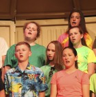 Also performing at the grade 7-8 concert, first row from left: Kole Weber and Alijah Parrish. Second row: Claire Tuetken. Third row: Becky Lang and Mia Jaeger. Fourth row: Madison Butterworth.
