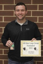 Jon Mootz was nominated All-State as part of a Large Group All-State duo. Not pictured is Alex Nealson.